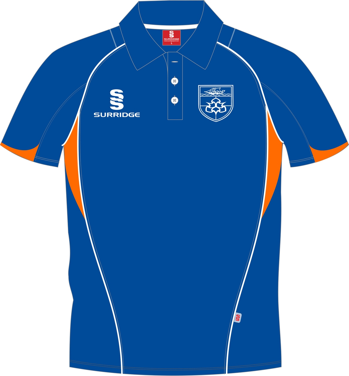 Surridge Sport Mmu Bespoke Polo Shirt