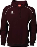Picture of CURVE HOODED SWEATSHIRT MAROON
