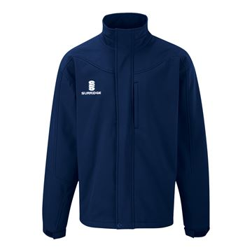 Picture of Soft Shell Bonded Jacket - Navy