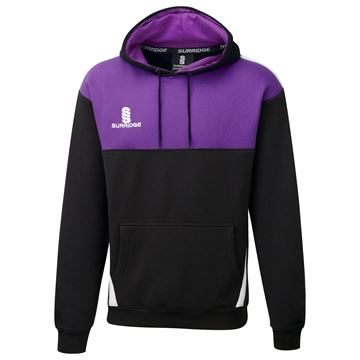 Image de Blade Hoody : Black / Purple / White