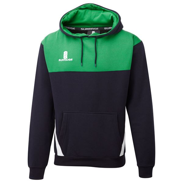 Image sur Blade Hoody : Navy / Emerald / White