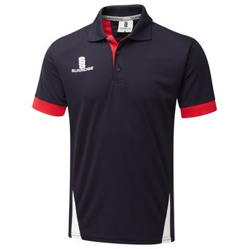 Image de Blade Polo Shirt : Navy / Red / White