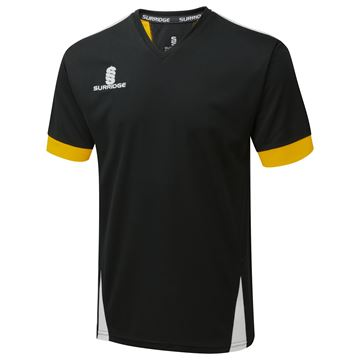 Picture of Blade Training Shirt : Black / Amber / White