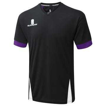 Bild von Blade Training shirt : Black / Purple / White