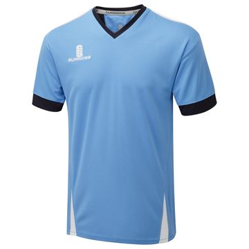 Afbeeldingen van Blade Training Shirt : Sky / Navy / White