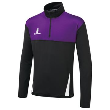 Bild von Blade Performance Top : Black / Purple / White