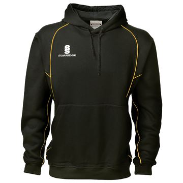 Picture of Alpha Hoodie : Black / Gold