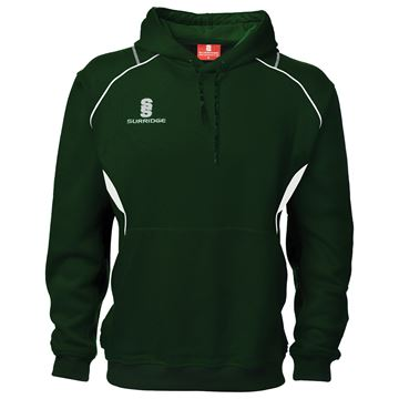 Picture of Curve Hoodie : Green / White