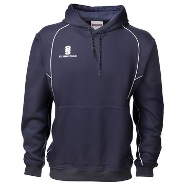 Picture of Hoody Sweatshirt - Navy/White