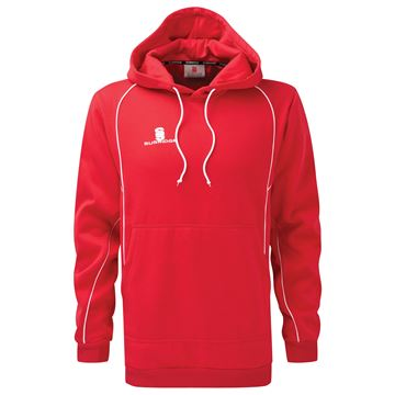 Image de Hoody Sweatshirt Red/White