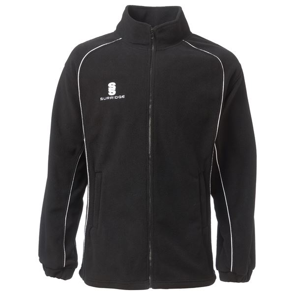 Image sur Fleece Jacket - Black