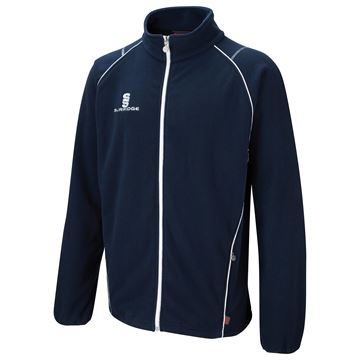 Image de Curve Fleece - Navy/White