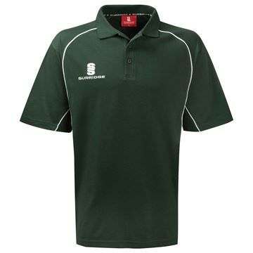 Bild von Alpha Polo Shirt Green/White