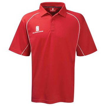 Afbeeldingen van Alpha Polo Shirt Red/White