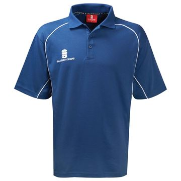 Bild von Alpha Polo Shirt Royal/White