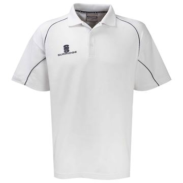 Bild von Alpha Polo Shirt White/Navy