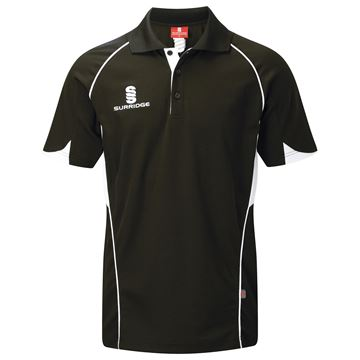 Image de Curve Polo Shirt - Black/White