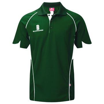 Image de Curve Polo Shirt - Green/White