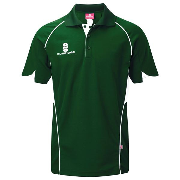 Picture of Curve Polo Shirt - Green/White