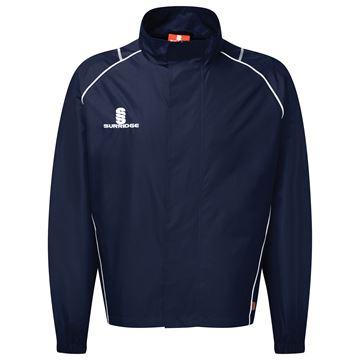 Image de Curve Full Zip Rain Jacket - Navy