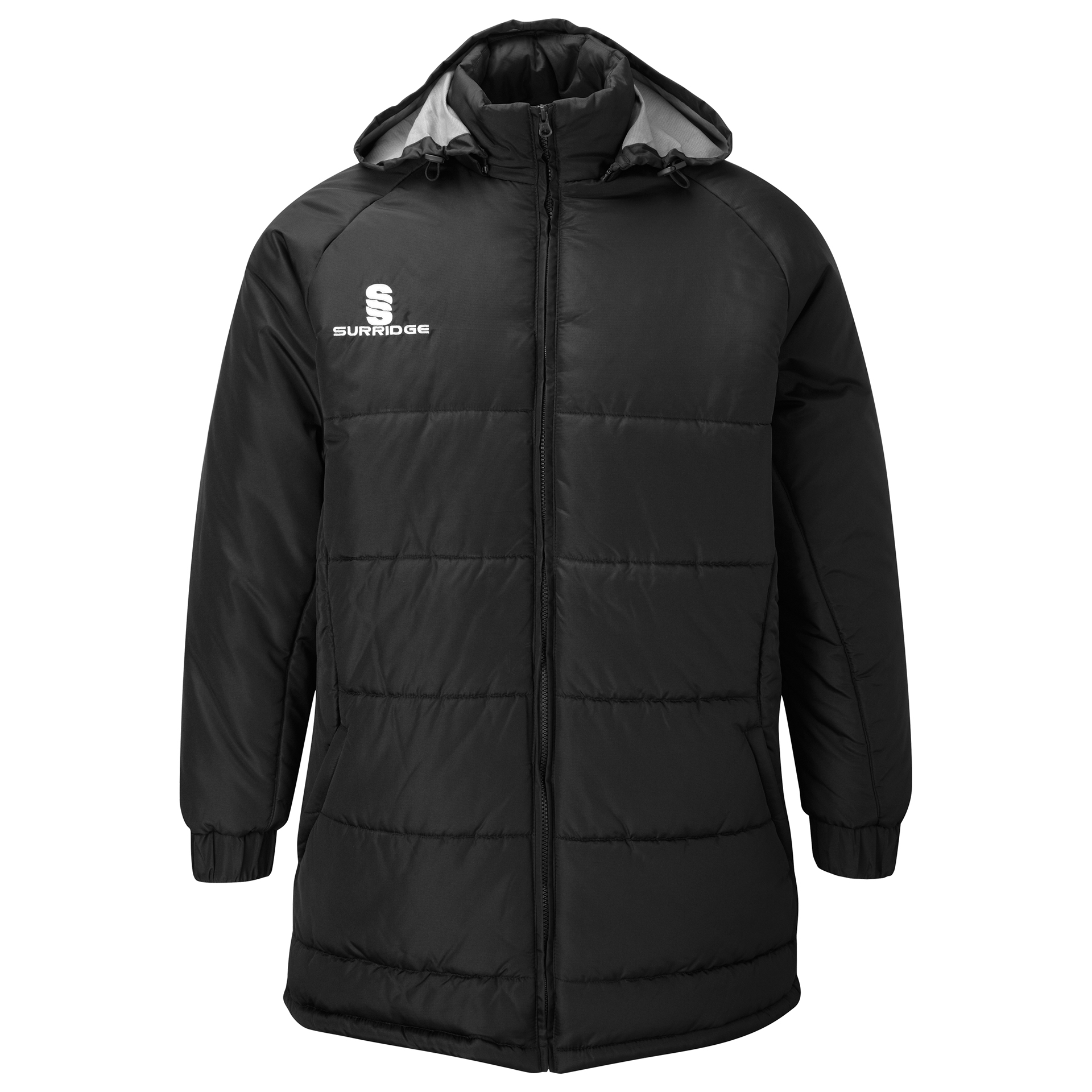 Surridge Sport Padded Bench Jacket Black