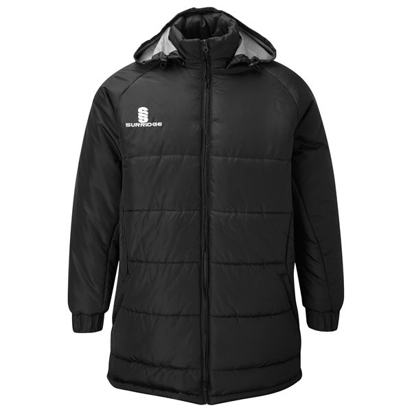 Bild von Padded Bench Jacket - Black