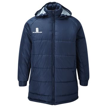 Picture of Padded Bench Jacket - Navy