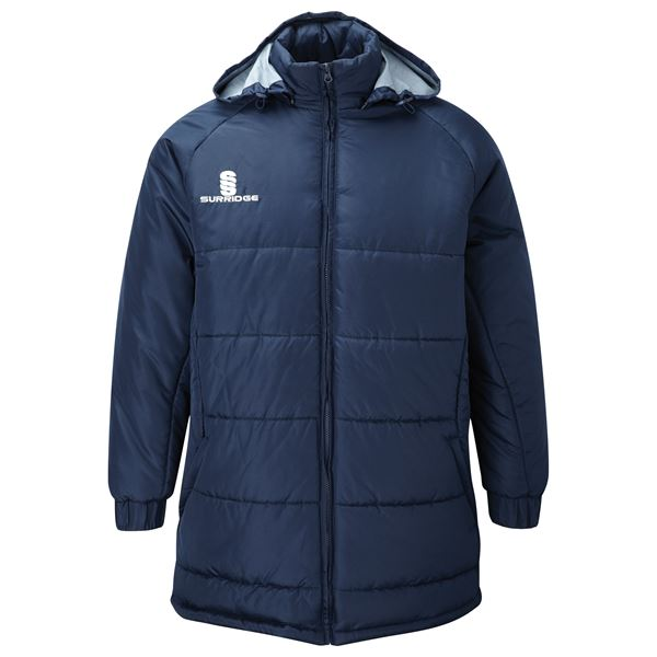 Image sur Padded Bench Jacket - Navy