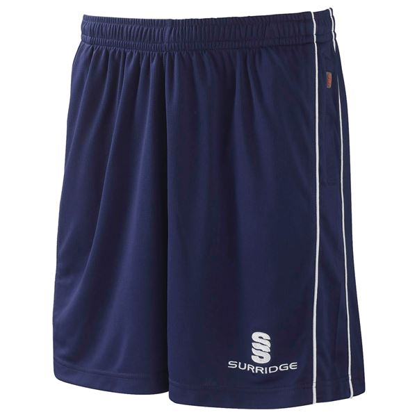 Picture of Polywaffle Training Shorts - Navy