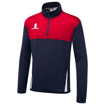 Bild von Blade Performance Top : Navy / Red / White