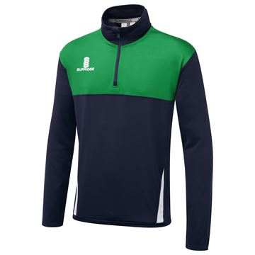 Afbeeldingen van Blade Performance Top : Navy / Emerald / White