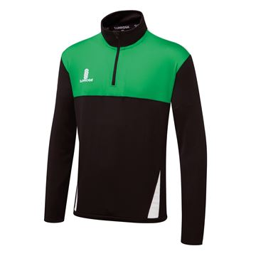 Afbeeldingen van Blade Performance Top : Black / Emerald / White