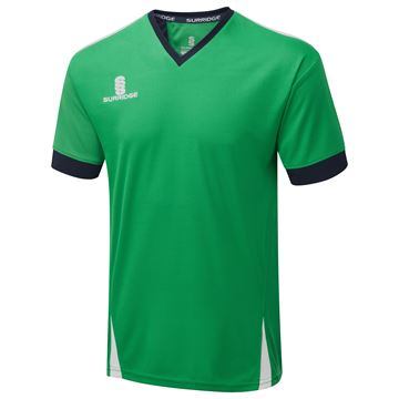 Bild von Blade Training Shirt : Emerald / Navy / White