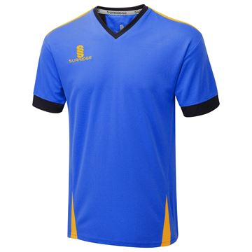 Afbeeldingen van Blade Training Shirt : Royal / Navy / Amber