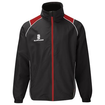 Picture of Curve Track Top : Black / Red