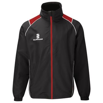 Bild von Curve Track Top - Black/Red