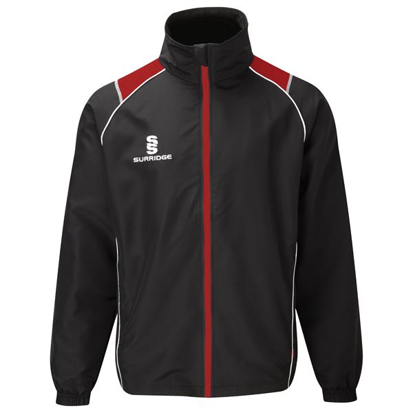 Image sur Curve Track Top - Black/Red