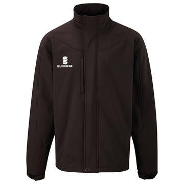 Picture of Soft Shell Bonded Jacket - Black
