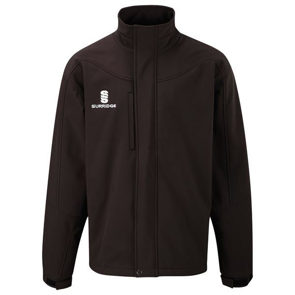 Bild von Soft Shell Bonded Jacket - Black