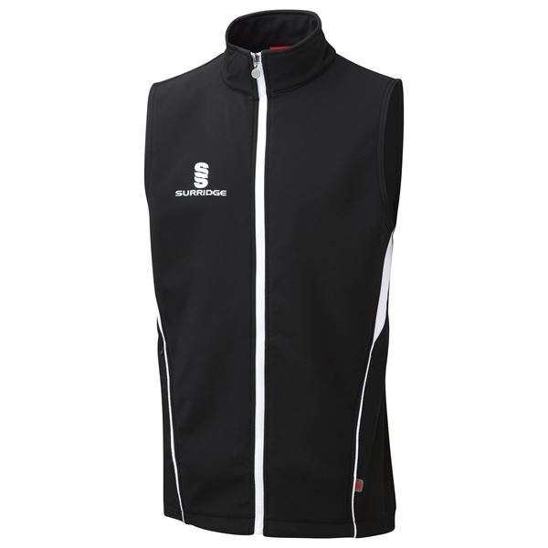 Image sur Soft Shell Gilet - Black