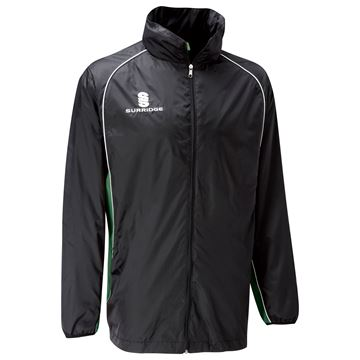 Picture of Training Jacket Black/Green