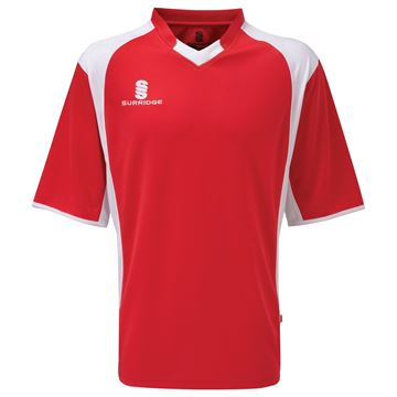 Bild von Training T-Shirt -Red/White