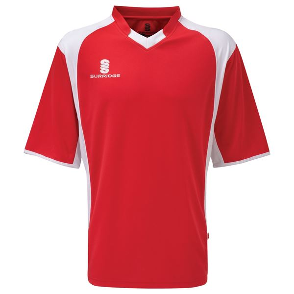 Afbeelding van Training T-Shirt -Red/White
