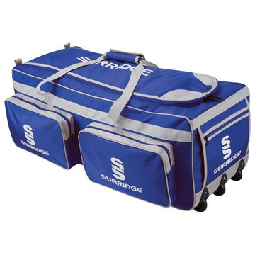 Picture of Large Holdall - Navy/Silver/White