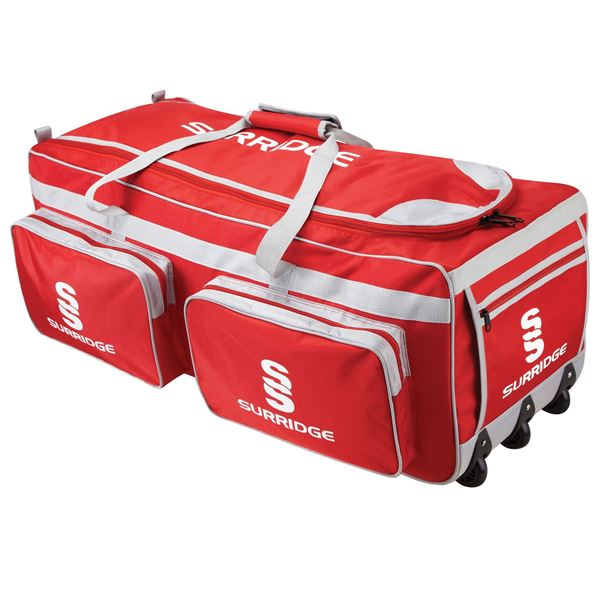 Afbeelding van Large Holdall - Red/Silver/White