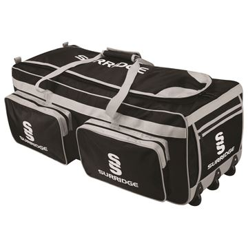 Picture of Large Holdall -Black/Silver/White