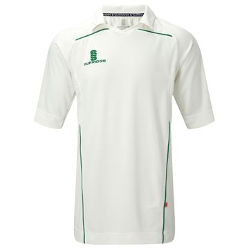 Image de 3/4 Sleeve Century Shirt - Green Trim