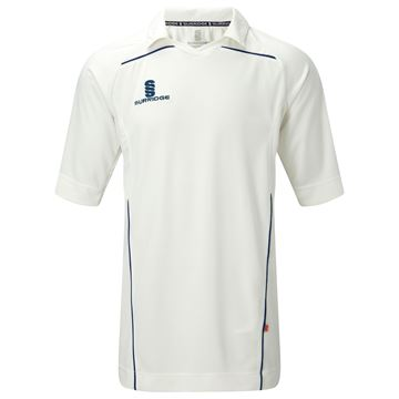Picture of 3/4 Sleeve Century Shirt - Navy Trim