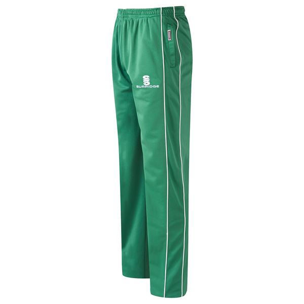 Afbeelding van Coloured Trousers - Green/White