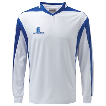 Picture of Prestige  Shirt - White/Royal